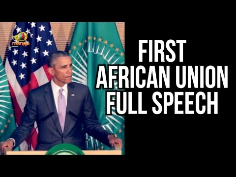 President Barack Obama | African Union Full Speech from Ethiopia | Mango News