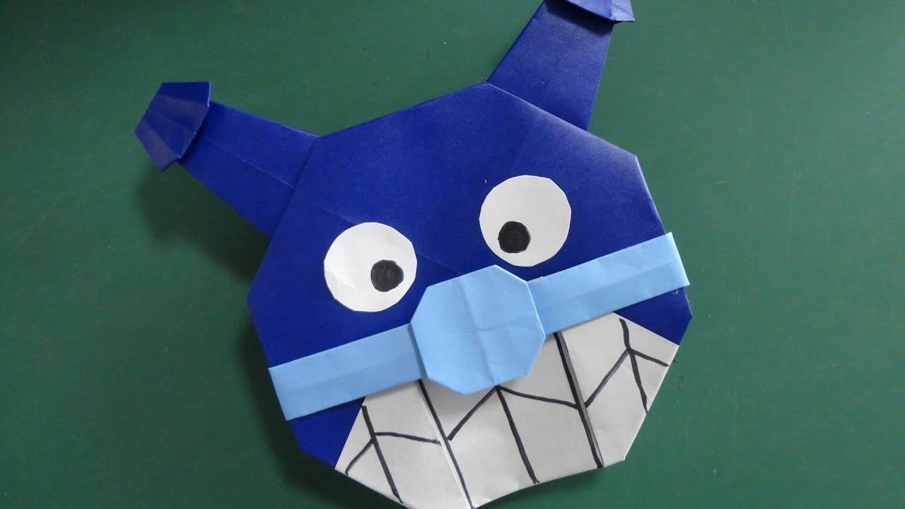 すべての折り紙 折り紙 バイキンマン : Pin Anpanman on Pinterest