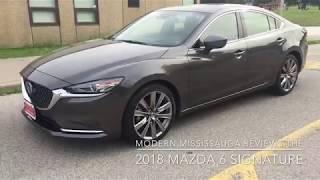 Modern Motoring - Reviewing the 2018 Mazda 6 Signature
