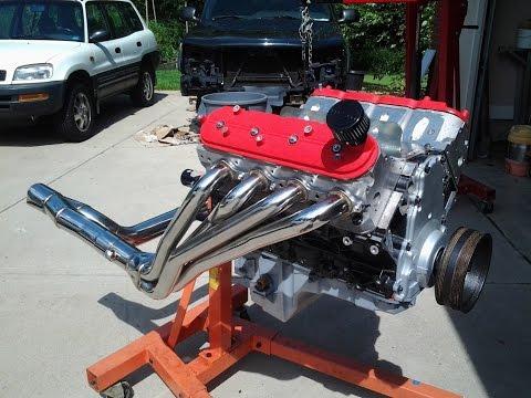 Built 5.3 heads cam long tubes corsa dyno 320/330