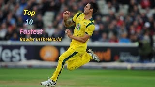 Top Ten fastest Bowler in the world 2016