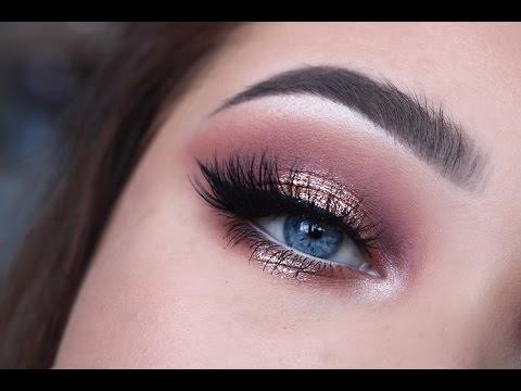 Rose Gold Glitter | Eye Tutorial