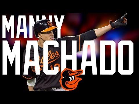 Manny Machado | 2016 Orioles Highlights ᴴᴰ