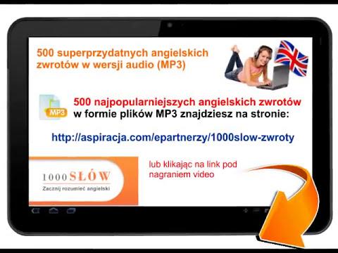 Szybka nauka angielskiego - 500 najpopularniejszych angielskich zwrotów na MP3