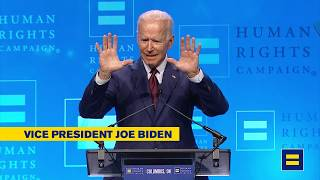 WATCH LIVE: Vice President Joe Biden delivers remarks at the 2019 HRC Columbus Dinner.