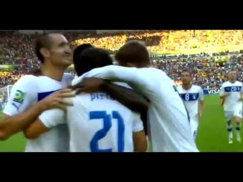 Andrea Pirlo Amazing Free Kick Goal vs Mexico ● Mexico vs Italy 1 1 ● HD 16 06 2013