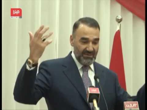 جریان کامل سخنرانی عطامحمد نور والی بلخ در مراسم نود و چهارمین سالگرد تاسیس جمهوری ترکیه در مزارشریف