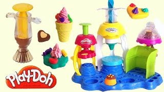 PlayDoh Sweet Shoppe Frosting Fun Bakery & Chocolate Popper