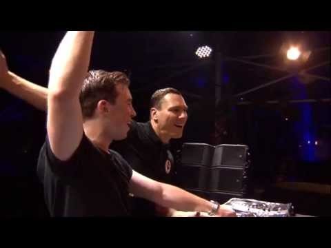 Hardwell & Tiësto Back2back Live at Tomorrowland 2014 FULL...