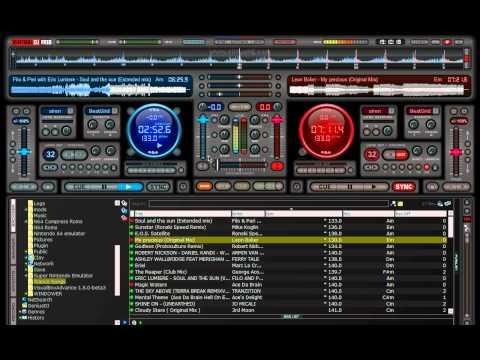 Trance Mixing with Virtual Dj