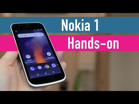 Nokia 1 hands-on - MWC 2018