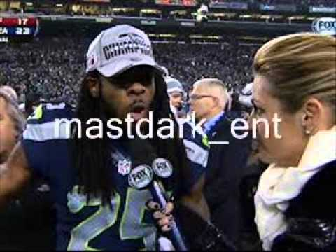 Richard Sherman Erin Andrews Turn