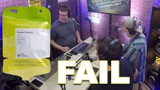 TECH FAILS - $400 OVER priced JUICERO Fail / Plastic Card Fails and DJI Goggles
