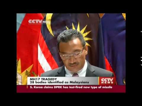 MH17: 28 of the victims identified as Malaysians