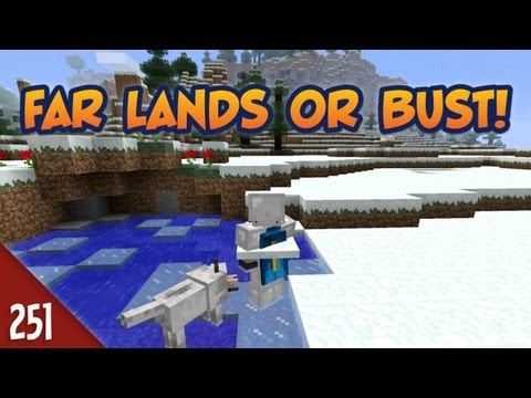Minecraft Far Lands or Bust - #251 - Floatingslabofsnowitis
