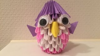 【折り紙】折り紙手芸 3D Origami Basic Parts Tutorial