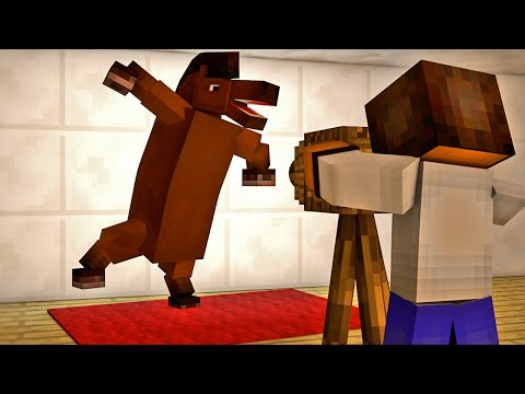Minecraft - Industrial Craft: Fotos do Cavalo