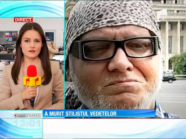 Marian Dцrеёд, cunoscutul stilist al vedetelor, s-a stins din viaхд