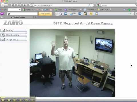 MAC Security Camera Viewing Zavio D6111