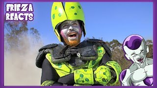 FRIEZA REACTS TO THE CELL SAGA IN 5 MINUTES (DRAGONBALL Z LIVE ACTION) (SWEDED) - MEGA64!