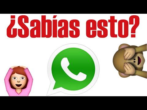 ¿sabías Esto De Whatsapp? video