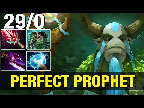 PERFECT PROPHET - FoREv 9.1K MMR Plays Nature's Prophet - Dota 2