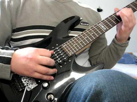 Kalmah - Ready for salvation (Guitar cover)