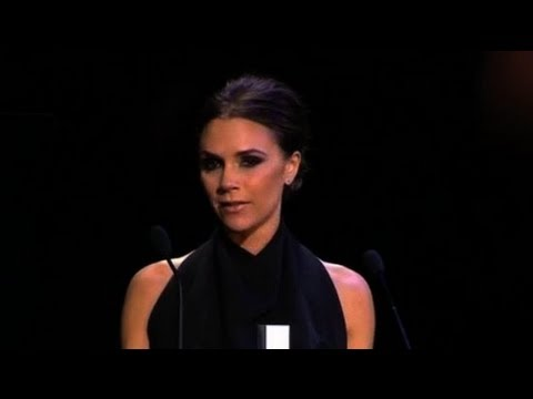 Victoria Beckham Wins British Fashion Award for Best Designer