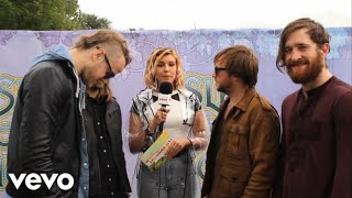Imagine Dragons - Imagine Dragons - Summer Six at the Isle of Wight Festival Interview