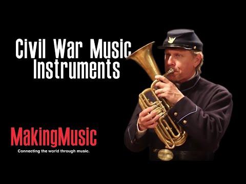 Civil War Music Instruments