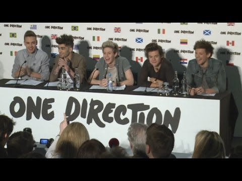 One Direction's Big Announcement (Part 1) Music Videos
