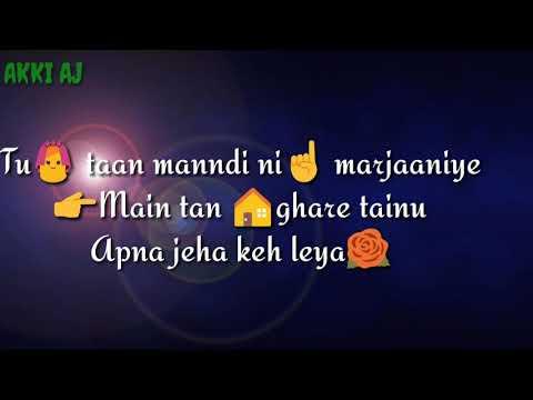 Horn Blow karda (hardy Sandhu) WhatsApp status song thumbnail