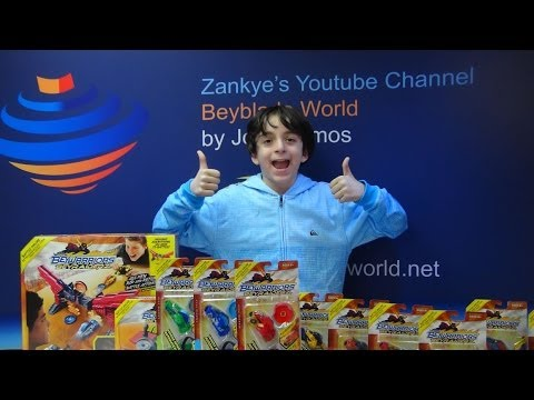 Beyblade BeyRaiderz 58 Million Views Giveaway