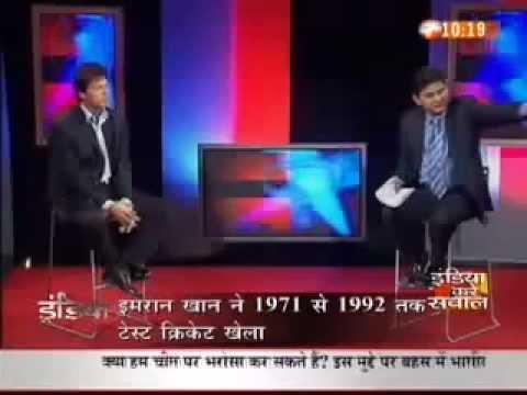 Amra kalan sarfraz A 4 Imran Khan Answering Indian Students