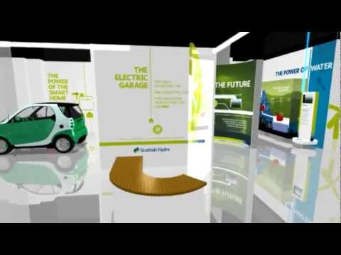 Scottish Hydro 'Power Of Now' Exhibition - Walk-through