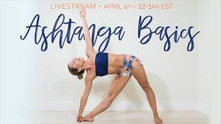 Ashtanga Yoga Basics with Kino on Omstars TV -- Class Sample