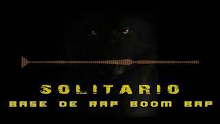 """base de rap boom bap """"solitario"""" instrumental de hip hop de uso libre"""
