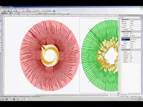 Demo of Wings Embroidery Designing software Part III-A
