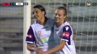 Westfield W-League 2018/19 Round 13: Western Sydney Wanderers 1 - 5 Perth Glory