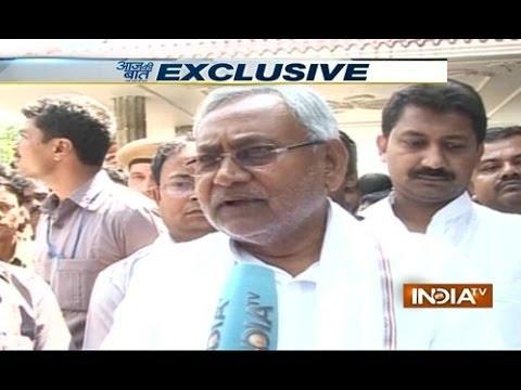Exclusive: Nitish Kumar derides BJP chant for making Narendra Modi ...