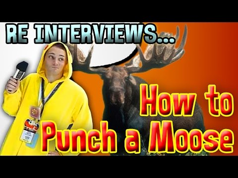 How To Punch A Moose With Gaston (Anime Expo)