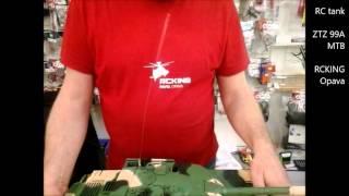 RC tank 1:16 ZTZ-A (česká recenze tanku, RCKING)