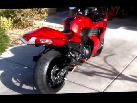 2010 Kawasaki Ninja ZX14. Blood Red Hayabusa Killer!