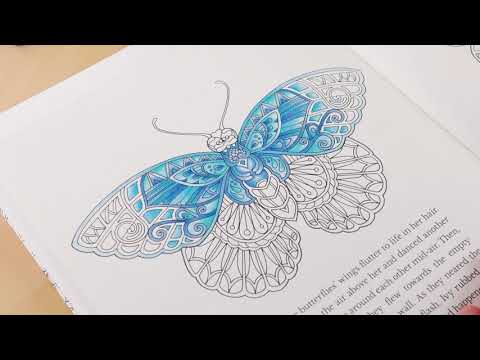 Tutorial : How to Colour a Butterfly