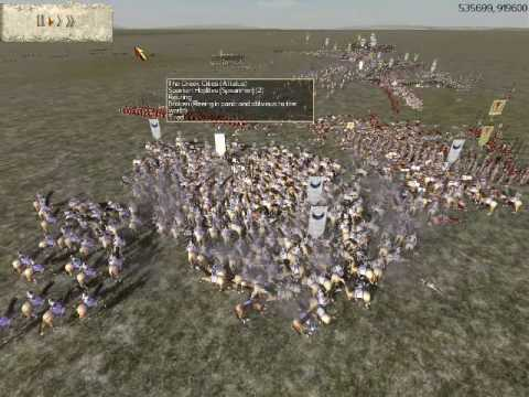 Rome Total War Online Battle #1400: Greek City-States vs Carthage