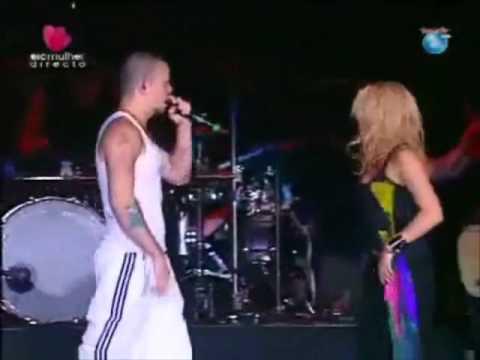 Shakira Isabel Mebarak Ripoll Y Calle 13, René Pérez Joglar (Residente)