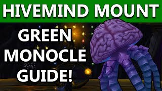 World Of Warcraft BFA HIVEMIND MOUNT | Green Monocle Skyreach Location & Puzzle Solution | Part 4