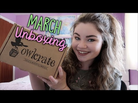 MARCH OWLCRATE UNBOXING | Across the Galaxy