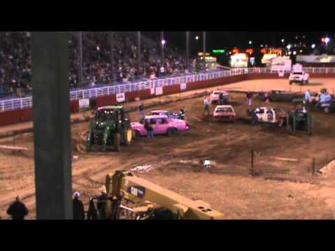2013 SPRINGDALE DEMOLITION DERBY, SPRING, FIRST YEAR OF THE STOCK CLASS
