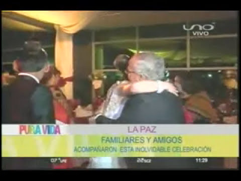 LA PAZ    MATRIMONIO KAREN CANALES Y RUDY CARDOZO 19 05